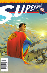 Cover Thumbnail for All Star Superman (DC, 2006 series) #1 [Newsstand]