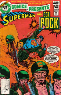 Cover Thumbnail for DC Comics Presents (DC, 1978 series) #10 [Whitman cover]