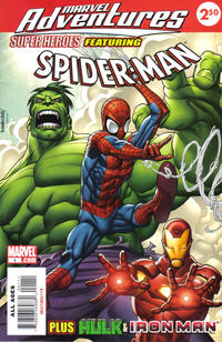 Cover Thumbnail for Marvel Adventures Super Heroes (Marvel, 2008 series) #1