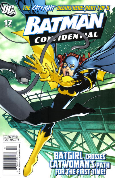 Cover for Batman Confidential (DC, 2007 series) #17 [Newsstand]