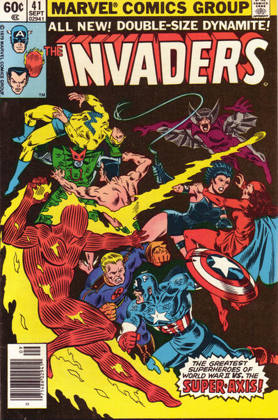 Cover for The Invaders (Marvel, 1975 series) #41