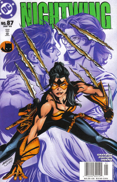 Cover for Nightwing (DC, 1996 series) #87 [Direct-Sale Variant]