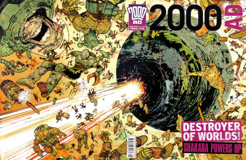 Cover for 2000 AD (Rebellion, 2001 series) #1725