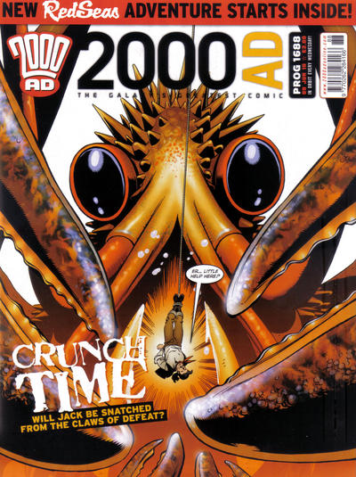 Cover for 2000 AD (Rebellion, 2001 series) #1688