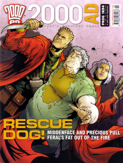 Cover for 2000 AD (Rebellion, 2001 series) #1694