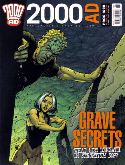 Cover for 2000 AD (Rebellion, 2001 series) #1698