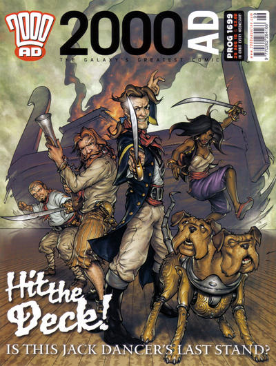 Cover for 2000 AD (Rebellion, 2001 series) #1699