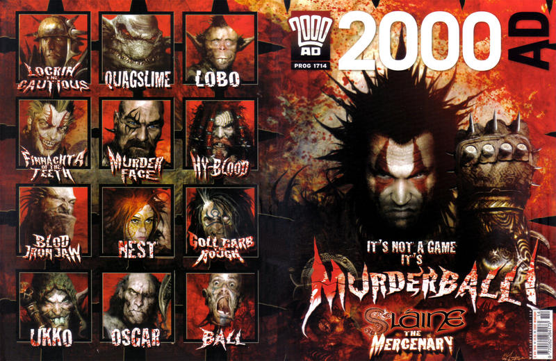 Cover for 2000 AD (Rebellion, 2001 series) #1714