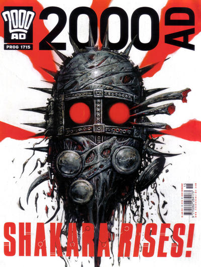 Cover for 2000 AD (Rebellion, 2001 series) #1715