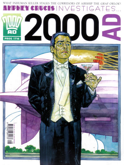 Cover for 2000 AD (Rebellion, 2001 series) #1716