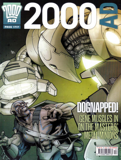 Cover for 2000 AD (Rebellion, 2001 series) #1717