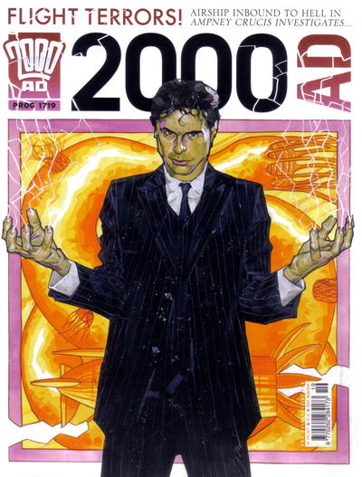 Cover for 2000 AD (Rebellion, 2001 series) #1719