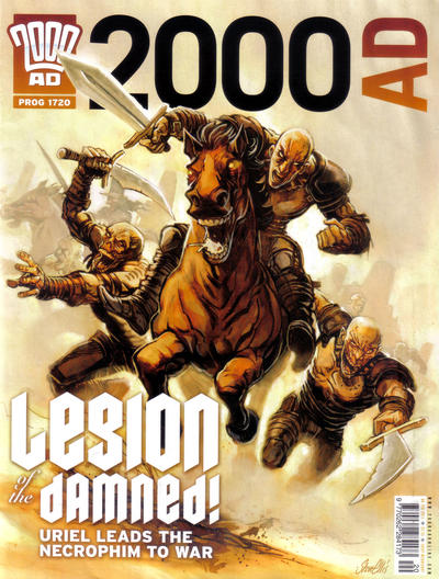 Cover for 2000 AD (Rebellion, 2001 series) #1720