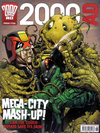 Cover for 2000 AD (Rebellion, 2001 series) #1726