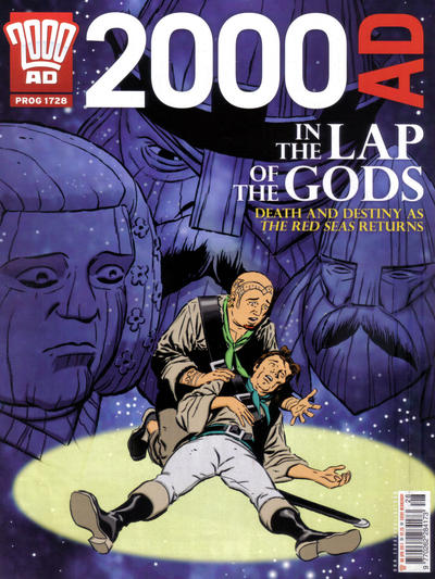 Cover for 2000 AD (Rebellion, 2001 series) #1728