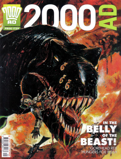 Cover for 2000 AD (Rebellion, 2001 series) #1729