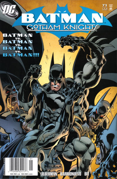 Cover for Batman: Gotham Knights (DC, 2000 series) #71 [Newsstand]