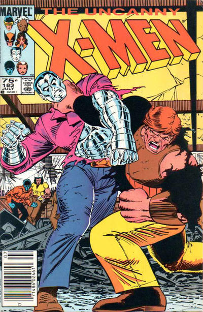 Cover for The Uncanny X-Men (Marvel, 1981 series) #183 [Direct]