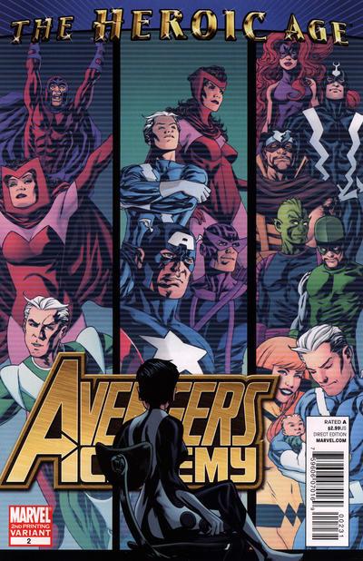 Cover for Avengers Academy (Marvel, 2010 series) #2