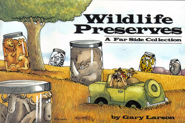 Cover for Wildlife Preserves (A Far Side Collection) (Andrews McMeel, 1989 series)