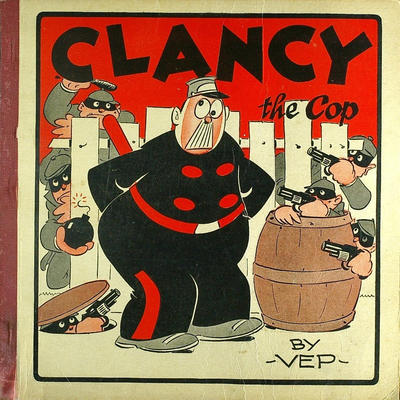 Cover for Clancy the Cop (Dell, 1930 series) #[nn]