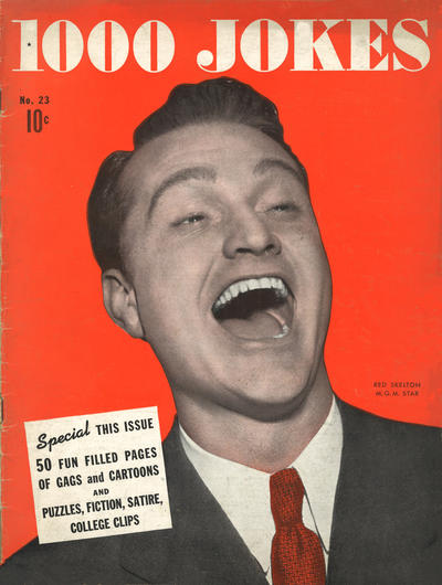 Cover for 1000 Jokes (Dell, 1939 series) #23