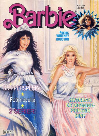 Cover for Barbie (Bladkompaniet / Schibsted, 1988 series) #1/1988