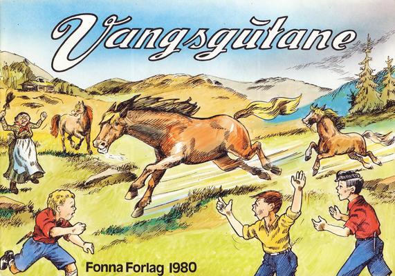 Cover for Vangsgutane (Fonna Forlag, 1941 series) #1980