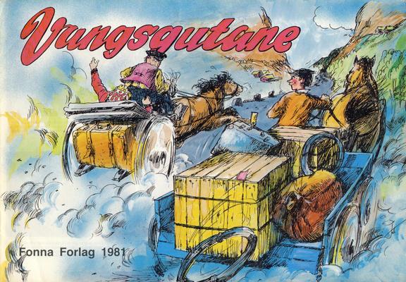 Cover for Vangsgutane (Fonna Forlag, 1941 series) #1981