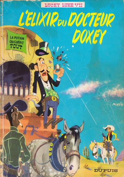 Cover for Lucky Luke (Dupuis, 1949 series) #7 - L'elixir du docteur Doxey