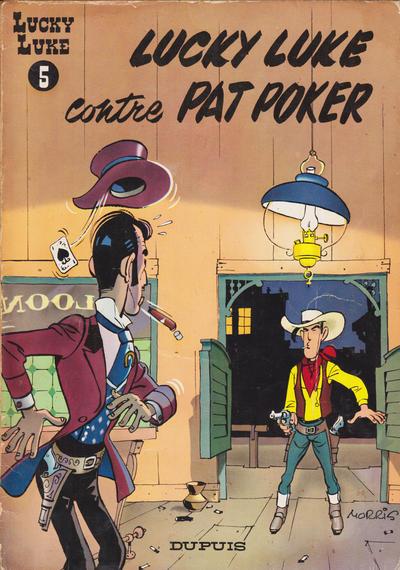 Cover for Lucky Luke (Dupuis, 1949 series) #5 - Lucky Luke contre Pat Poker