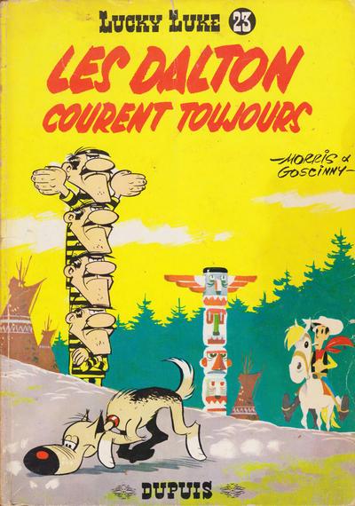 Cover for Lucky Luke (Dupuis, 1949 series) #23 - Les Dalton courent toujours