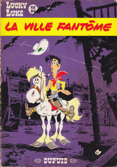 Cover for Lucky Luke (Dupuis, 1949 series) #25 - La ville fantôme