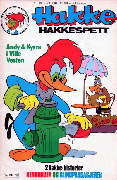 Cover for Hakke Hakkespett (Semic, 1977 series) #10/1979