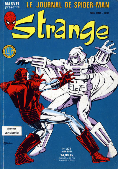 Cover for Strange (Editions Lug, 1970 series) #224