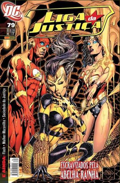 Cover for Liga da Justiça (Panini Brasil, 2002 series) #79