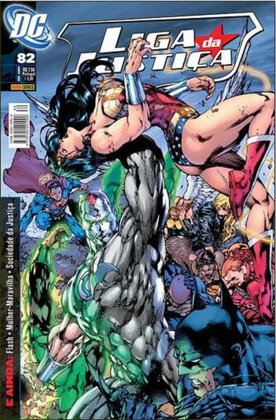 Cover for Liga da Justiça (Panini Brasil, 2002 series) #82