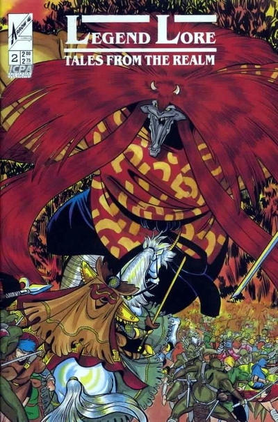 Cover for Legend Lore: Tales from the Realm (Arrow, 1988 series) #2