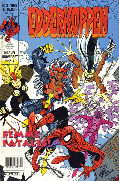 Cover for Edderkoppen (Semic, 1984 series) #3/1993