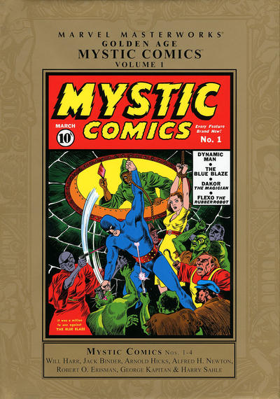 Cover for Marvel Masterworks: Golden Age Mystic Comics (Marvel, 2011 series) #1 [Regular Edition]