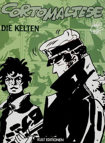 Cover for Corto Maltese (Kult Editionen, 2001 series) #[3] Die Kelten