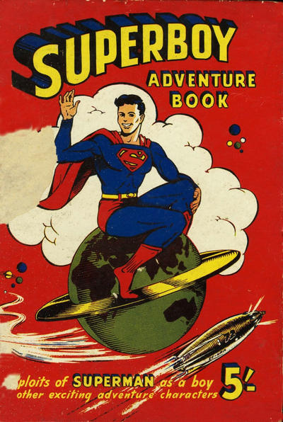 Cover for Superboy Adventure Book (Atlas Publishing, 1955 ? series) #1955-56