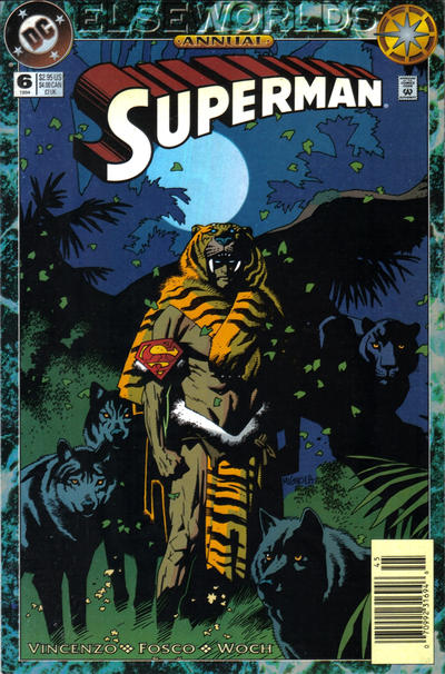 Cover for Superman Annual (DC, 1987 series) #6 [Direct-Sales]