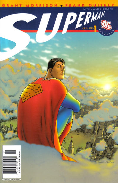 Cover for All Star Superman (DC, 2006 series) #1 [Direct Sales]