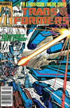 Cover for The Transformers (Marvel, 1984 series) #4 [Newsstand]