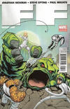 Cover for FF (Marvel, 2011 series) #1 [2nd Printing McGuinness]