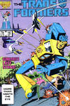 Cover for The Transformers (Marvel, 1984 series) #16 [Direct]