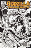 Cover Thumbnail for Godzilla: Kingdom of Monsters (2011 series) #2 [Cover RI-B]