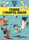 Cover for Lucky Luke (Semic, 1977 series) #20 - Feiden i Painful Gulch [1. opplag]