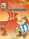 Cover for Asterix [hardcover] (Hjemmet / Egmont, 1984 series) #3 - Asterix og vikingene